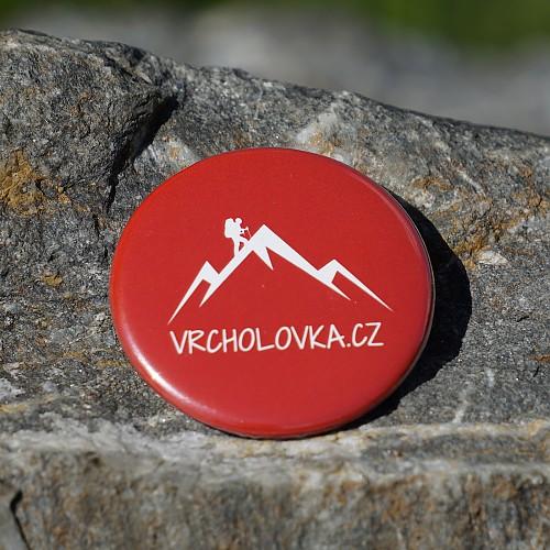Placka červená magnet