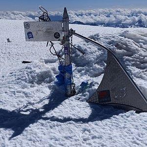 Elbrus východní vrchol