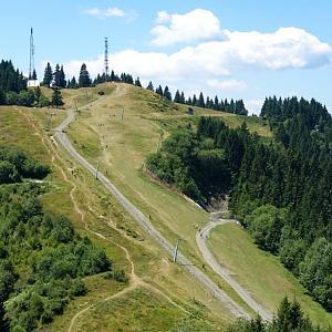 Peč, Ofen, Monte Forno - Trojmezí