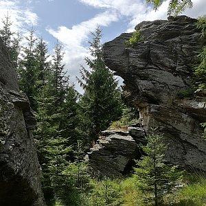 Žárový vrch - SV vrchol