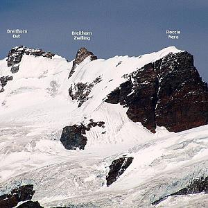 Breithorn - Roccia Nera