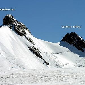 Breithornzwillinge / West - (Gemello del Breithorn orientale / Gendame)