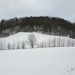 Holý vrch JZ vrchol