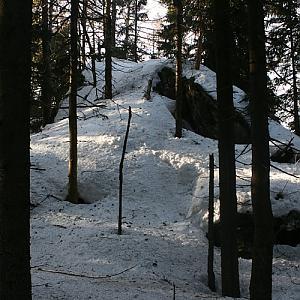 Skalka - SZ vrchol