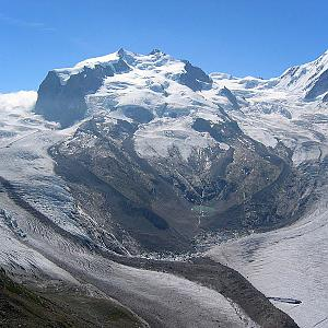 Dufourspitze / Monte Rosa - Punta Dufour