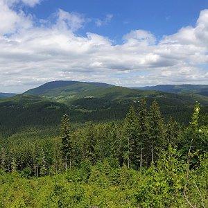 Bezejmenné vrcholy (kóty) Moravskoslezských Beskyd
