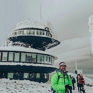 Novoroční výstup na Sněžku