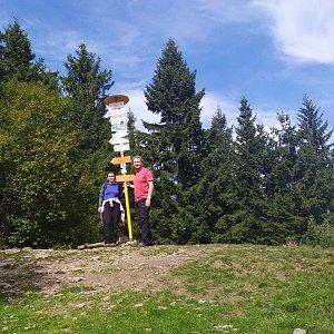 Javorníky - Malý Javorník 1019 m, Velký Javorník 1071 m