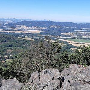 Sedlo, Trojhora, Kamenná hora