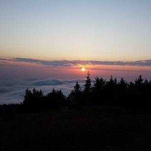 Na Radhošť na západ slunce
