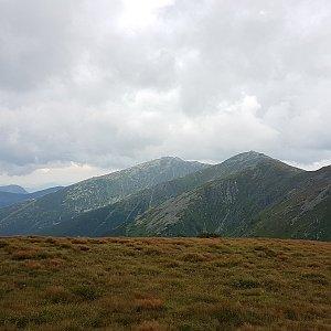Trek přes Nízké Tatry - den 2 - Štefánička - Ďurková