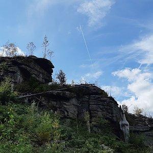 Nové Hrady - Kamenec, Myslivna, Vysoká