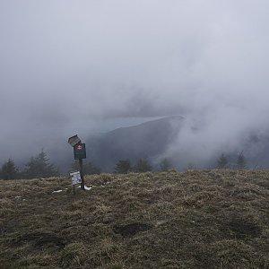 Z chaty na Borišov