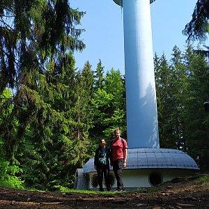 Drahanská vrchovina - Skalky 735 m