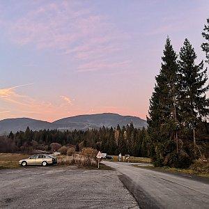 Okruh Babia hory ze slané vody (jen 23 km, 110 km jizda autem, zapomenul jsem vypnout stopaře :D  :D)
