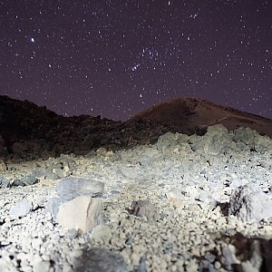 Pico de Teide - den druhý