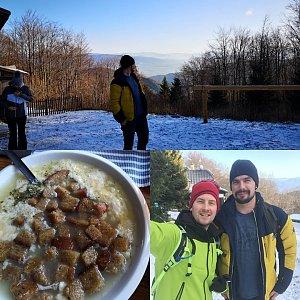 Nedělní výlet (Košařiska-Ostrý-Smrčina-Kamenitý-Kosařiska)