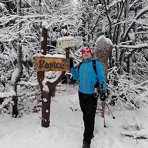 32 vrcholů Beskyd 2021: Ropice, Slavíč