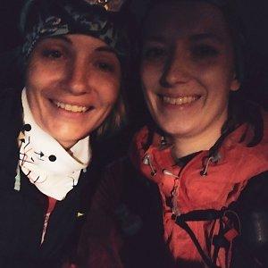 Noční přechod Lysá hora - Velký Javorník