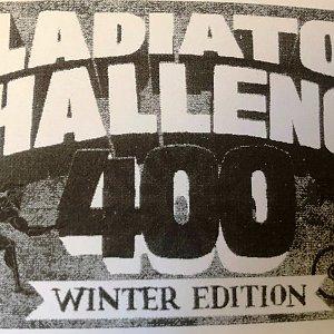 Gladiator Challenge 400 - Winter Edition (+ z nádra a zpět)