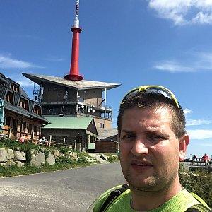 Radim Škrabánek na vrcholu Lysá hora (25.7.2019 10:31)