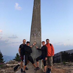 PePa na vrcholu Lysá hora (27.7.2019 5:26)