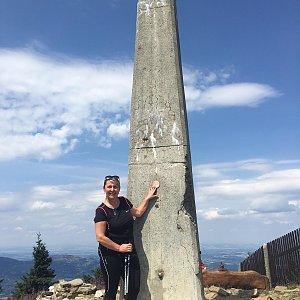 Lenule na vrcholu Lysá hora (28.7.2019 12:30)