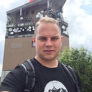 Pavel Šišolák na vrcholu Lysá hora (3.8.2019 11:12)
