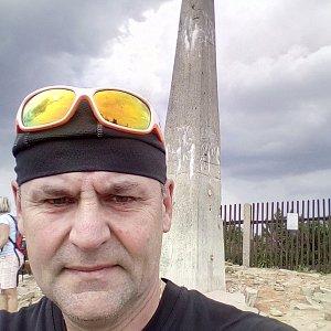 Li Be na vrcholu Lysá hora (5.8.2019 15:26)