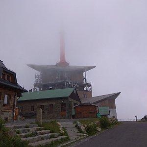 Renča Šin na vrcholu Lysá hora (3.8.2019 9:35)