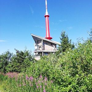 Ondřej Sládek na vrcholu Lysá hora (27.7.2019 18:01)