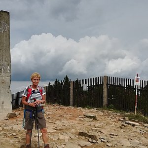 MUDr.Svatopluk Kunčar na vrcholu Lysá hora (7.8.2019 11:34)
