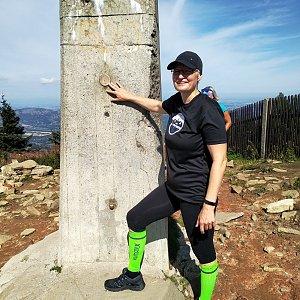 karina gasova na vrcholu Lysá hora (17.8.2019 10:28)