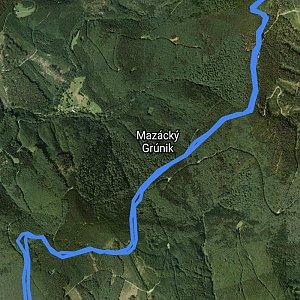 Honza na vrcholu Lysá hora (19.8.2019 17:30)