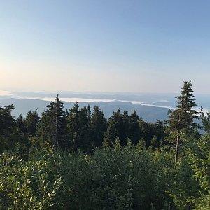 PePa na vrcholu Lysá hora (31.8.2019 7:45)