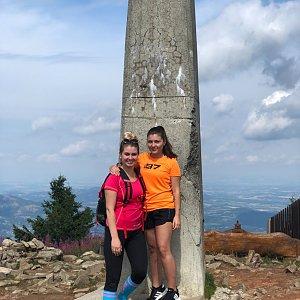 Ivča na vrcholu Lysá hora (7.8.2019 10:51)