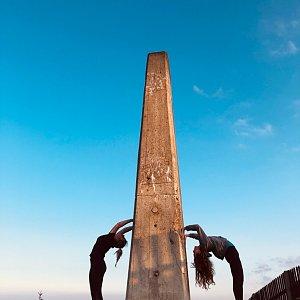 Ivča na vrcholu Lysá hora (5.8.2019 6:01)