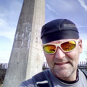 Li Be na vrcholu Lysá hora (16.9.2019 10:51)