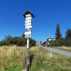 Marek na vrcholu Lysá hora (21.9.2019 10:50)