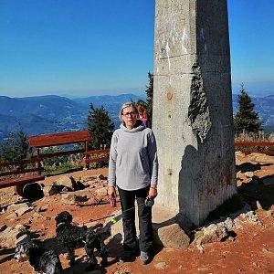 Blanka Holleschová na vrcholu Lysá hora (21.9.2019 18:03)
