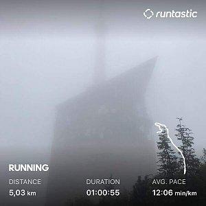 Marek Ždánský na vrcholu Lysá hora (8.9.2019 12:10)