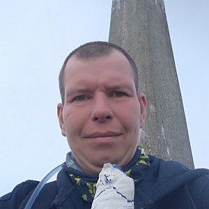 Michal Krčmář na vrcholu Lysá hora (28.9.2019 9:49)