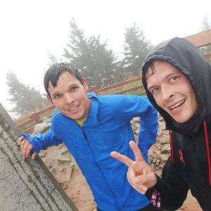 Ondřej Sládek na vrcholu Lysá hora (30.9.2019 15:50)