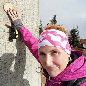 Andrea Latová Essens na vrcholu Lysá hora (3.10.2019 11:15)