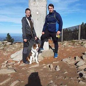 Kristián Lecián na vrcholu Lysá hora (12.10.2019 10:00)