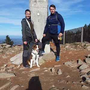 Markéta Čeníková na vrcholu Lysá hora (12.10.2019 10:07)