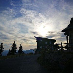 Petra Kosarkova na vrcholu Lysá hora (15.10.2019 16:25)