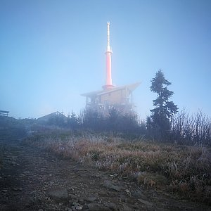 Petra Kosarkova na vrcholu Lysá hora (30.10.2019 7:11)