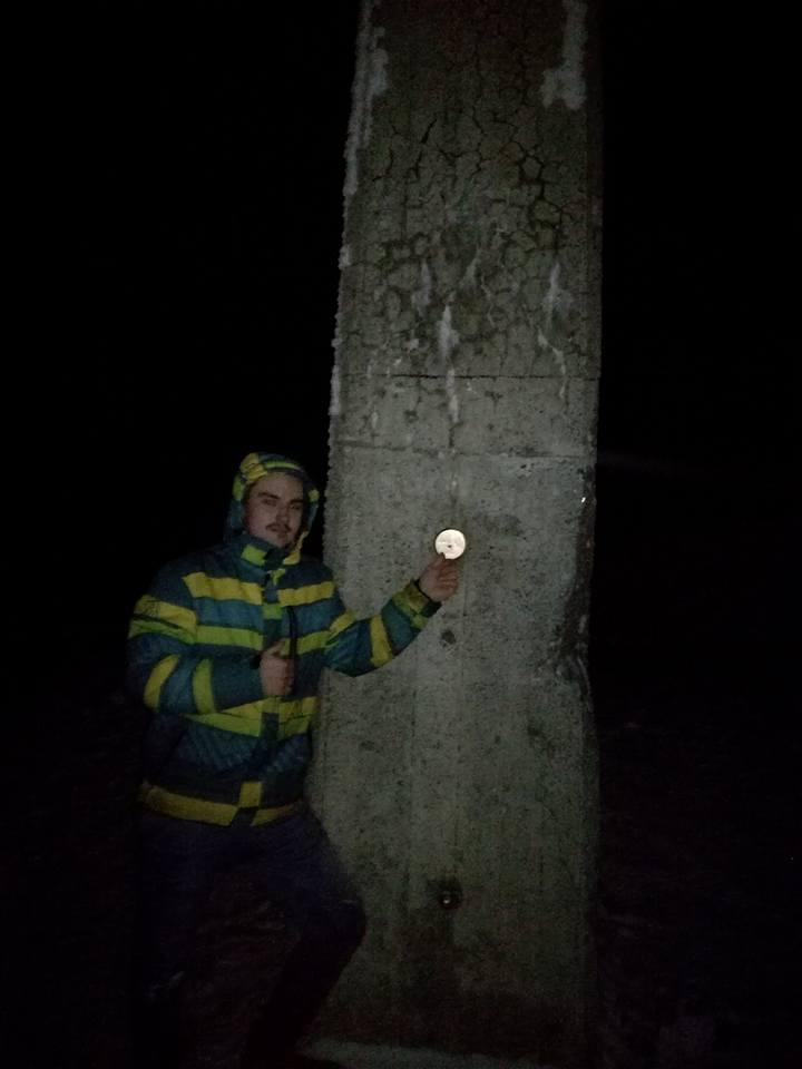 Tomáš Fojcik na vrcholu Lysá hora (19.12.2017 17:00)