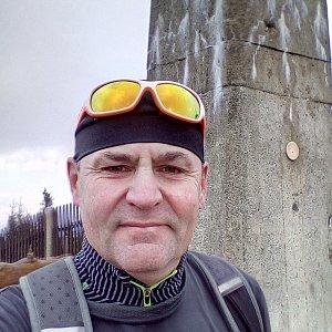 Li Be na vrcholu Lysá hora (18.11.2019 8:46)